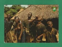 Republique De Cote D'Ivoire , (W17) - Region De Touba - Fete Au Village - 2 Scan - - Benin
