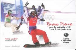 CPM 05 - Serre Chevalier - Pierre Vaultier - Médaille D'Or Aux JO De Sochi 2014 - Snowboard Cross - Serre Chevalier