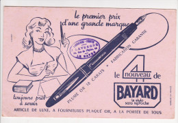 Buvard BAYARD 4 Stylo Plume Sans Reproche Librairie LAVERGNE Le Havre - Papeterie