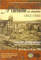 "Carte Postale ""Cart´Com"" (1998) - Marseille En Chantier (1862-1866) Par Adolphe Terris - Publicidad"