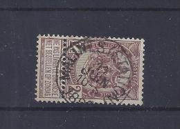 N°55 (ntz) GESTEMPELD Malines (Station) - 1893-1907 Coat Of Arms