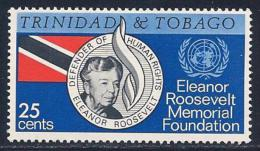 Trinidad & Tobago, Scott # 118 Mint Hinged Human Rights, 1965 - Trinidad & Tobago (1962-...)