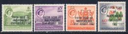 Trinidad & Tobago, Scott # 123-6 Mint Hinged Independence Anniv., 1967 - Trinidad & Tobago (1962-...)