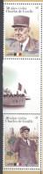 URUGUAY,2014, MNH, CHARLES DE GAULLE, VISIT TO URUGUAY, FLAGS, SHIPS, 2v - De Gaulle (Generaal)