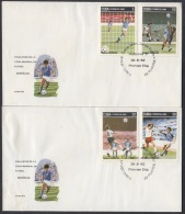 1982-FDC-17 CUBA. FDC. 1982. FINALISTAS COPA MUNDIAL DE FUTBOL. SOCCER  WORLD CUP. ESPAÑA. SPAIN. SPORTS. - FDC