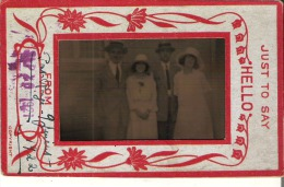 2 Couples 1922 - Anonymous Persons
