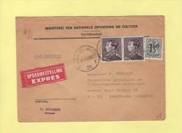 Belgique - Lettre Expres Destination France - 1970 - Lettres & Documents