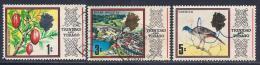 Trinidad & Tobago, Scott # 144-6 Used Various Subjects, 1969 - Trinidad & Tobago (1962-...)