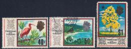 Trinidad & Tobago, Scott # 149, 151-7 Various Subjects, 1969, #157 Has Round Corners - Trinidad & Tobago (1962-...)