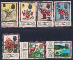 Trinidad & Tobago, Scott # 149, 151-6 Used Various Subjects, 1969 - Trinidad & Tobago (1962-...)