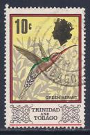 Trinidad & Tobago, Scott # 149 Used Green Hermit, 1969 - Trinidad & Tobago (1962-...)