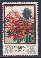 Trinidad & Tobago, Scott # 154 Used Chaconia, 1969 - Trinidad & Tobago (1962-...)