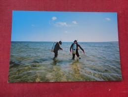Skin Divers  Cape Cod Mass  ---  -- --ref 1736 - Cartes Postales