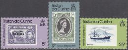 TRISTAN DA CUNHA, 1976 STAMPFEST 3 MNH - Tristan Da Cunha