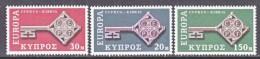 CYPRUS  314-16  **   EUROPA - Cyprus (Turkey)