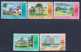 Trinidad & Tobago, Scott # 279-83 Used Various Scenes, 1978 - Trinidad & Tobago (1962-...)