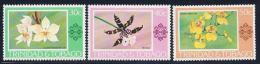 Trinidad & Tobago, Scott # 285-7 Mint Hinged Orchids, 1978 - Trinidad & Tobago (1962-...)