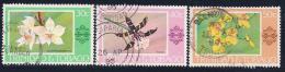 Trinidad & Tobago, Scott # 285-7 Used Orchids, 1978 - Trinidad & Tobago (1962-...)