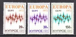 CYPRUS  380-2  *   EUROPA - Unused Stamps