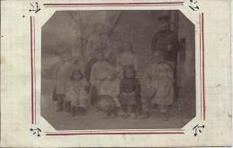 Carte Photo - En Famille -  ARCEY - Côtes-d'Or - Grupo De Niños Y Familias