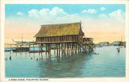 Réf : A-15-2709 : A MORO HOUSE PHILIPPINE ISLANDS - Philippines