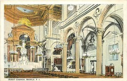 Réf : A-15-2710 : PHILIPPINE  JESUIT CHURCH MALINA - Philippines