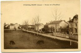 EVAUX-LES-BAINS (23) – Avenue De La République. - Evaux Les Bains