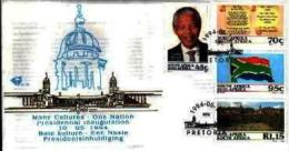RSA, 1994, Mint First Day Cover Nr. 6-03ab, President Mandela, SACCnr(s) - FDC