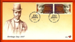 RSA, 1997, Mint First Day Cover Nr. 6-66, National Song  SACCnr(s) - FDC