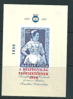1502 Hungary National Art Costume Overprint Stamp On Stamp Imp MNH RARE - Costumi