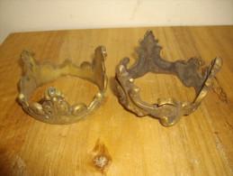 2 PIECES CERCLAGE EN BRONZE RONDES - Bronzes