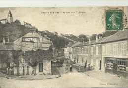 CHATEAUFORT.  La Rue Des Orfèvres. - France