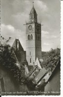 DIS148 - UBERLINGEN AM BODENSEE - TURM DES MUNSTERS ST. NIKOLAUS - F.P. VIAGGIATA 1967 - Ueberlingen