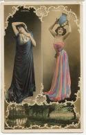 Montage Reutlinger 2 Artistes Chenal Et Toledo Sexy Art Nouveau - Artistes