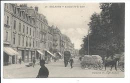BELFORT - Avenue De La Gare - Belfort - Ville