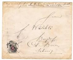 L2/2. Moscou 27 DEC 1878. Yv N°25. Verso= Burgdorf 12.1.79  (Lettre Ouverte  Et Quelques Taches) - 1857-1916 Imperium