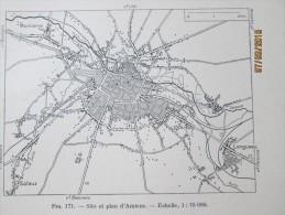 Plan De  La Ville De Amiens      1940 - Maps