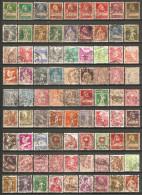 81 Timbres Anciens De Suisse - Suisse