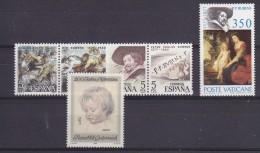 Spain, Vatican, Austria Peter Paul Rubens 6v ** Mnh  (19900) - Rubens
