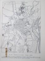 Plan De  La Ville De STRASBOURG  1940 - Maps