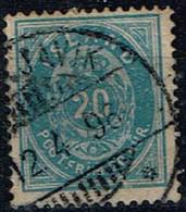 Islande - 1882 - Y&T N° 14 A, Dent. 14 X 13 1/2, Oblitéré - Oblitérés