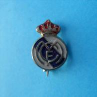 REAL MADRID CF (Club De Fútbol ) - Football Club ( Spain ) Pin Espana Badge Soccer  Fussball Futbol Futebol Foot Calcio - Fútbol