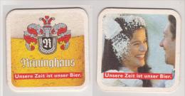 Reininghaus Österreich , R - Unsere Zeit Ist Unser Bier - Bierdeckel