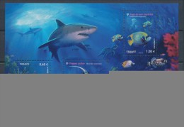 2012 France Bloc Feuillet N°F4646 Série Nature Faune Marine YB4646 - Blocs & Feuillets