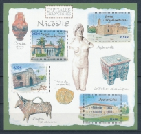 2006 France Bloc Feuillet N°101 Capitales Européennes  Nicosie YB101 - Blocs & Feuillets