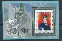 """2007 France Bloc Feuillet N°106 Fête Du Timbre """"Harry Potter"""" YB106 - Blocchi & Foglietti"""