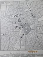Plan De  La Ville De Toulouse   1940 - Maps