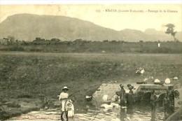 Guinée Française. Kindia. Le Passage De La Ouaoua. - Guinée Française