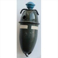 German Nebel Eihandgranate 42 (Smoke Grenade) (INERT) - 1939-45
