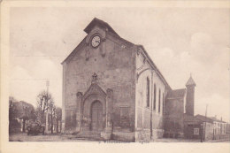 93 - Villetaneuse - L'Eglise (petite Animation, Timbre Nr 761) - France
